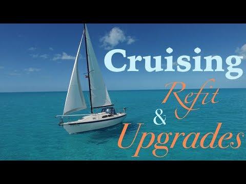 1985 Ericson 26 Sailboat Upgrades (Boat Tour)