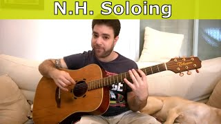 Lesson: How to Solo Using Natural Harmonics - Guitar Tutorial