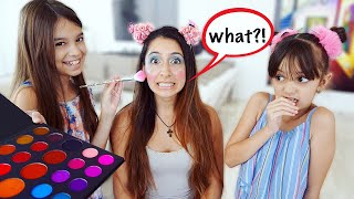 Making Fun of Our Babysitter! Awesome Bloss'ems Inspired Makeover