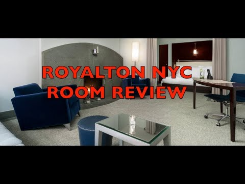 Royalton Times Square New York City Alcove Suite Room Review
