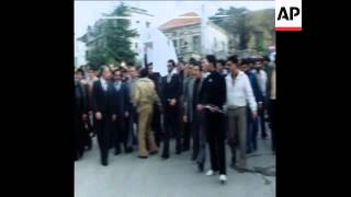SYND 25/2/80 FUNERAL OF BESHIR GEMAYEL'S DAUGHTER IN BEIRUT