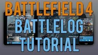 Battlefield 4 Battlelog Website Tutorial