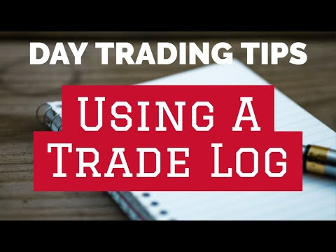 Day Trading Mini-Seminar: Using A Trade Log