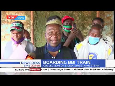 Jubilee party officials in Kirinyaga county make passionate plea to residents to support BBI