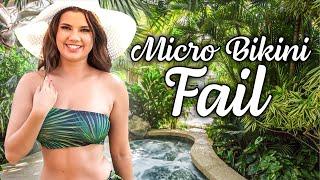 Micro Bikini Fail Haul! Dare goes wrong!