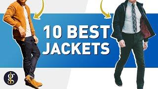 10 BEST JACKETS for Stylish Guys   Men's Style & Fashion Inspiration