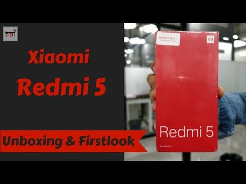 Xiaomi Redmi 5 Unboxing & First Look
