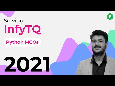 (InfyTQ Python MCQ Sample Paper Questions) - YouTube