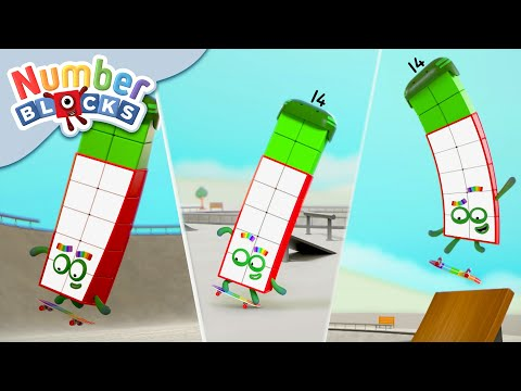 Numberblocks - Edgy Fourteen! | Learn to Count