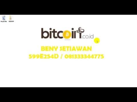 Video Cara membuat Account Bitcoin (BTC)
