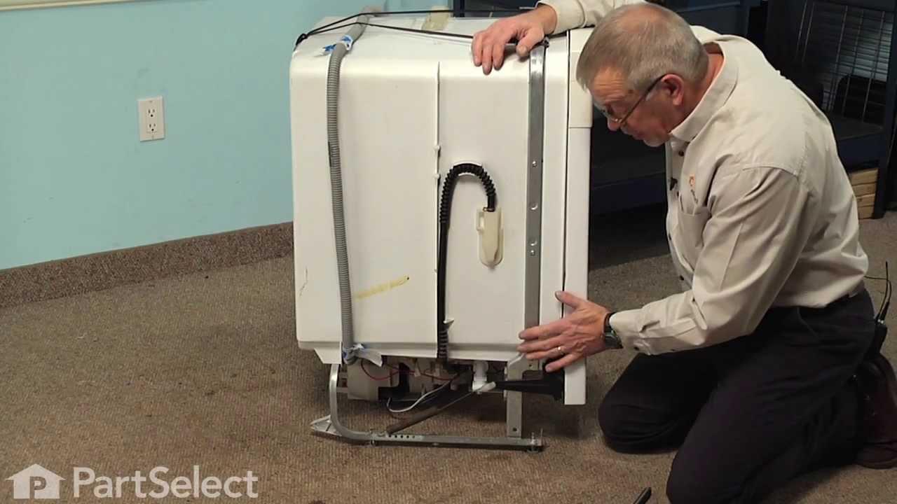 Replacing your Frigidaire Dishwasher Door Spring