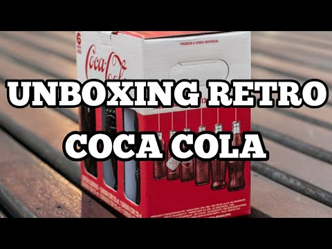 UNBOXING GARRAFAS RETRO DA COCA COLA