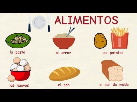 Aprender español: Los alimentos (nivel básico)