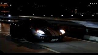 すごい排気音!F40とR8の加速出撃!!&希少車FORD GT登場