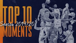 The victorious three-pointed Isaiah Whitehead in the TOP 10 moments of the VTB United League season 2019/20