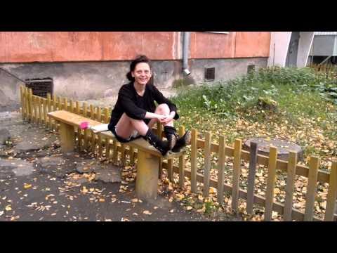 Девушка под наркотой! Много новых слов в русский язык!