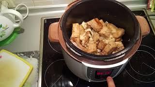 Рецепт Булгур с мясом в мультиварке