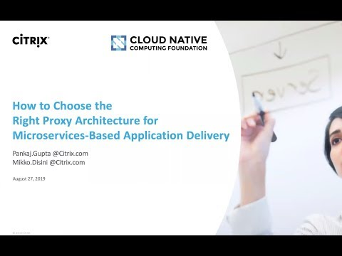 How to choose right proxy architecture for micro-services based application delivery