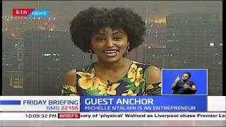 Michelle Ntalami, founder and owner of Marini Naturals | GUEST ANCHOR