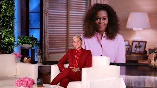 Michelle Obama Surprises Ellen with a Birthday Message