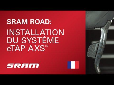 Installation du système SRAM eTap AXS