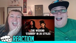 10 SECOND SONGS - THE WEEKND STARBOY REACTION!!🔥