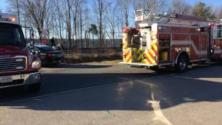 Norfolk Southern Train 811 hits vehicle at Private Crossing