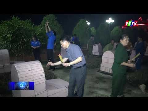 Các địa phương huyện Vũ Thư tổ chức lễ thắp nến tri ân các anh hùng liệt sỹ