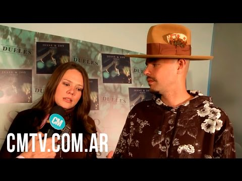 Jesse Y Joy video Entrevista CM Argentina - Julio - 2016
