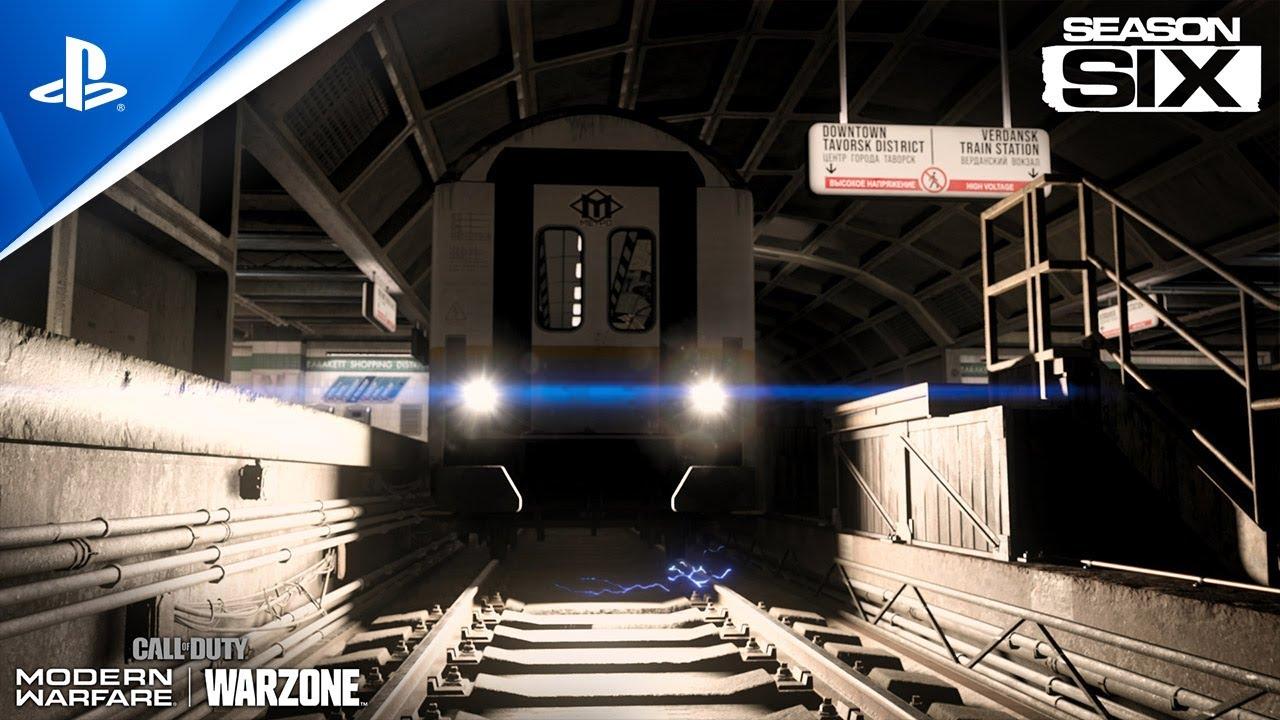 Call of Duty: Modern Warfare Season Six adds a fast travel subway system