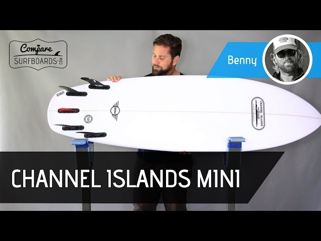 Channel Islands MINI Surfboard Review - Futures Fins HS1 Generation Series - Compare Surfboards
