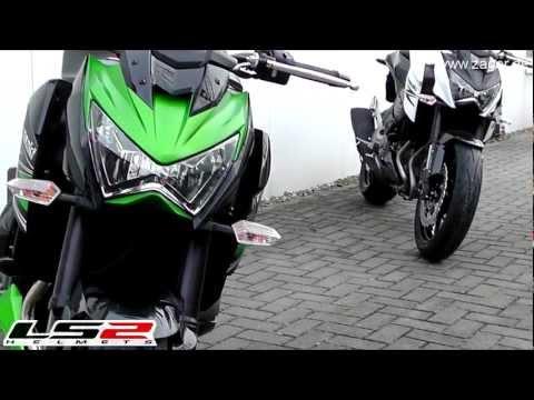 Test Video Kawasaki Z800 Nakedbike Vergleich 2013 Videos