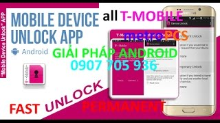 How to Unlock Samsung Galaxy S7 Edge T-Mobile SM-G935T Network
