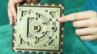 Как сделать сейф из дерева - Конструктор UGEARS - Отец и Сын