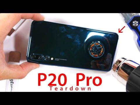 Huawei P20 Pro messo a nudo, ecco la tripla fotocamera