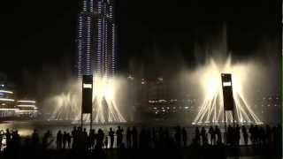 Дубайские фонтаны.