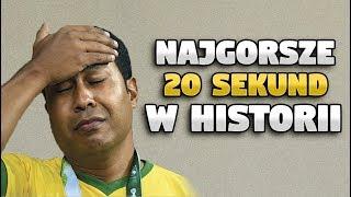 NAJGORSZE 20 SEKUND W HISTORII FUTBOLU | Hasztag Futbol #1
