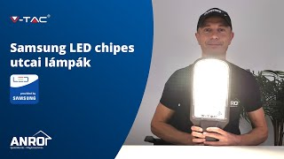 V-TAC Samsung LED chipes utcai lámpák bemutatása