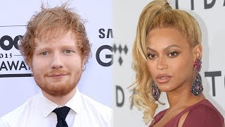 Ed Sheeran SPILLS Weird Beyonce Secret & Talks Grammy Snub