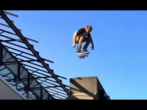HUGE Kickflip Into DEADLY Bank!!?! - Behind The Clips - Dillon Moore