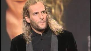 Michael Bolton Wins Adult Contemporary Artist - AMA 1995