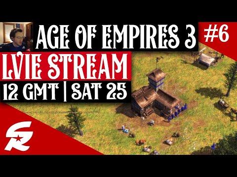 Age of Empires 3 LIVESTREAM #6 | 12 GMT, 4/25
