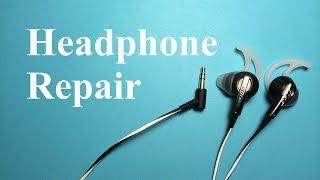 How repair or fix headphones