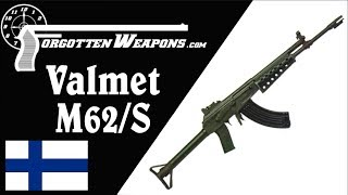 Valmet M62/S: The AK in Finland