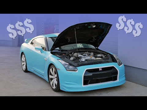 Nissan GT-R: True Cost to Own and Fix (eng sub) | volant.tv