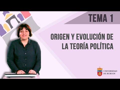 Tema 1 - Origen y Evolución de la Teoría Política