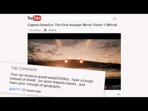 Vtipné komentáře na YouTube