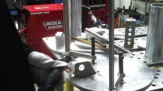 Welding Aluminum with a Lincoln PowerMig 350mp & Stronghand BuildPro Table Part2