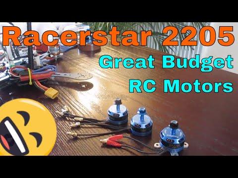 Racerstar 2205 2300KV Review - Cheap RC Brushless motor