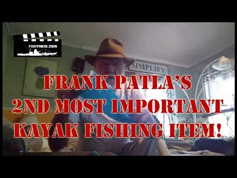 Frank Patla's 2nd Most Important Kayak Fishing Accessory: Episode 262